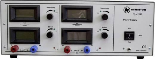 Statron 2225.2 Labornetzgerät, einstellbar 0 - 24 V 0 - 6 A 288 W Anzahl Ausgänge 2 x