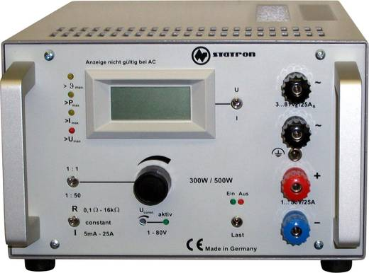 Elektronische Last Statron 3227.31 80 V/DC 25.5 A 300 W Werksstandard (ohne Zertifikat)