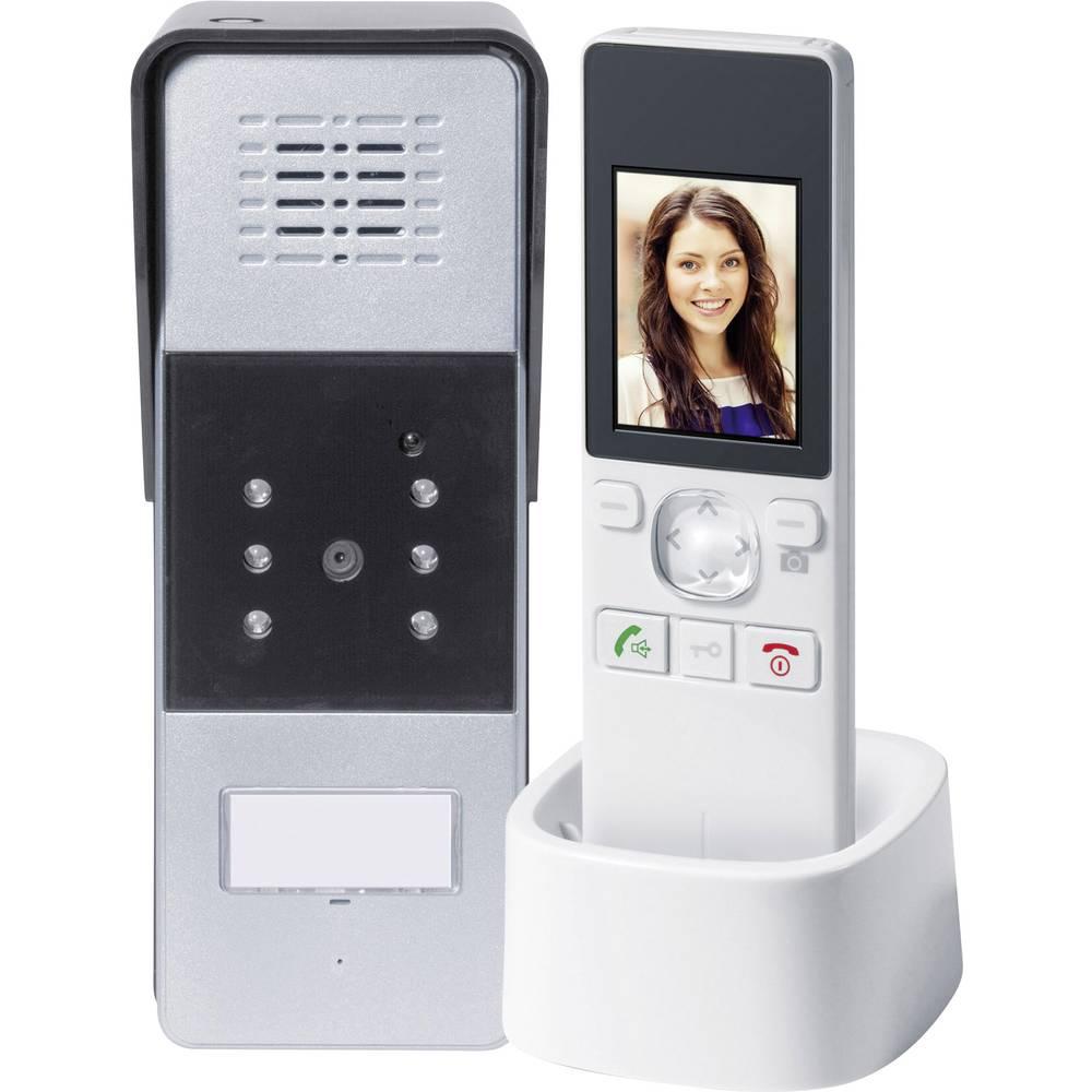 Set complet d 39 interphone vid o radio 1 foyer gev 086012 - Interphone pour communiquer d une piece a l autre ...
