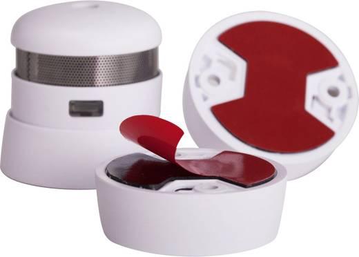 Cautiex 105366 Klebepad für Rauchwarnmelder