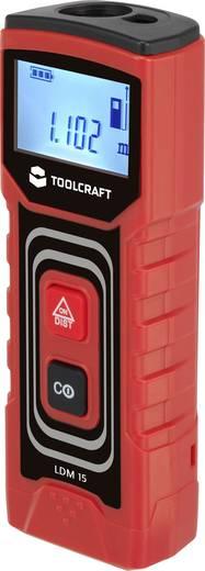 TOOLCRAFT LDM 15 J Laser-Entfernungsmesser Messbereich (max.) 15 m Kalibriert nach: Werksstandard (ohne Zertifikat)