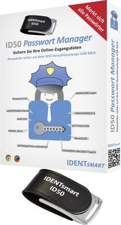 Image of IDENTsmart ID50 Password-Safe TOP SECRET Passwort-Manager