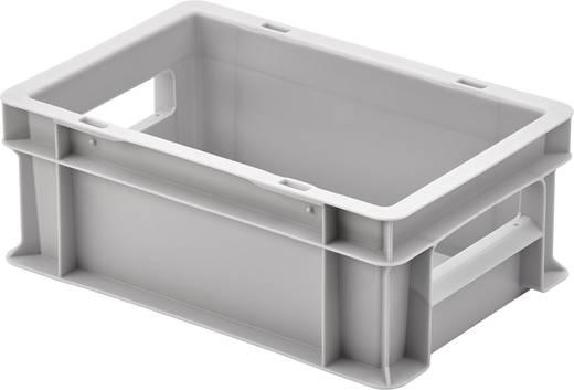 Klappdeckelbox (L x B x H) 200 x 300 x 120 mm Grau Alutec 05045 1 St.