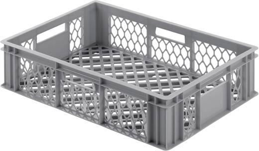 Klappdeckelbox (L x B x H) 400 x 600 x 130 mm Grau Alutec 05050 1 St.