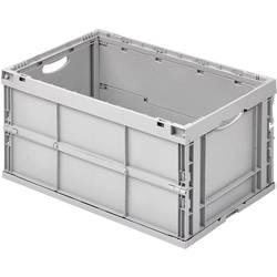 Image of Alutec 05100 Klappbox (L x B x H) 400 x 600 x 320 mm Grau 1 St.