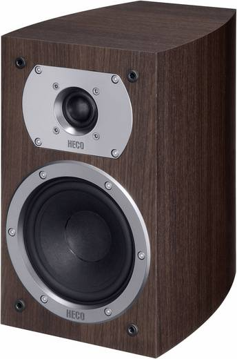 HECO Victa Prime 202 Regallautsprecher Espresso 110 W 35 - 40000 Hz 1 Paar