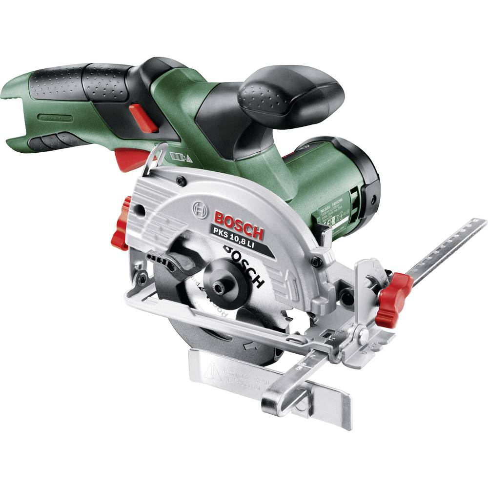 bosch home and garden pks 10 8 li cordless handheld circular saw 85 mm w from conrad electronic uk. Black Bedroom Furniture Sets. Home Design Ideas
