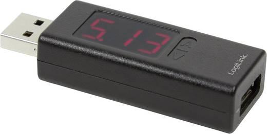LogiLink PA0067 USB Multimeter digital Kalibriert nach: Werksstandard (ohne Zertifikat) CAT I Anzeige (Counts): 999