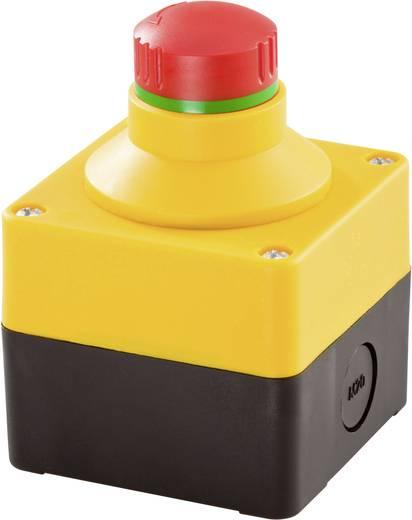 Not-Aus-Schalter mit Schutzkragen, im Gehäuse 250 V/AC 16 A 2 Öffner Schlegel SIL_QRBLUVOO IP65 1 St.