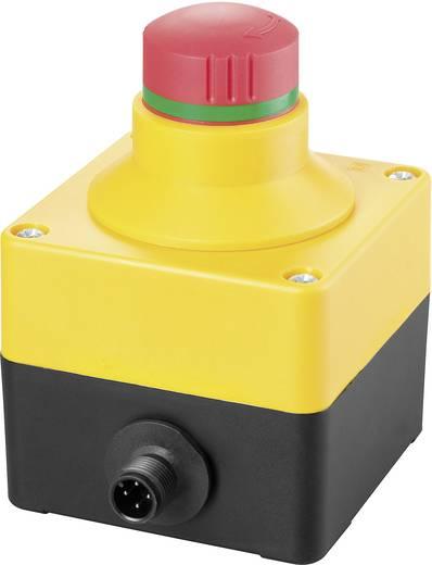 Not-Aus-Schalter im Gehäuse, überlistungssicher, mit Schutzkragen 250 V/AC 4 A 2 Öffner Schlegel SIL_QRSKUVOO_M12 IP65 1