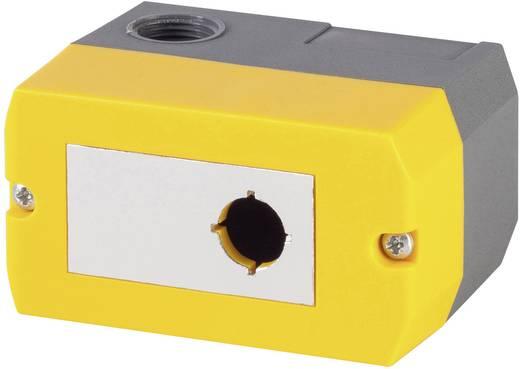 Leergehäuse (L x B x H) 100 x 55 x 74 mm Ohne Gelb Schlegel DIRL1VGB-R16 1 St.