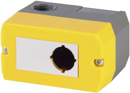 Leergehäuse (L x B x H) 100 x 55 x 74 mm Ohne Gelb Schlegel DIRL1VGB-R22 1 St.