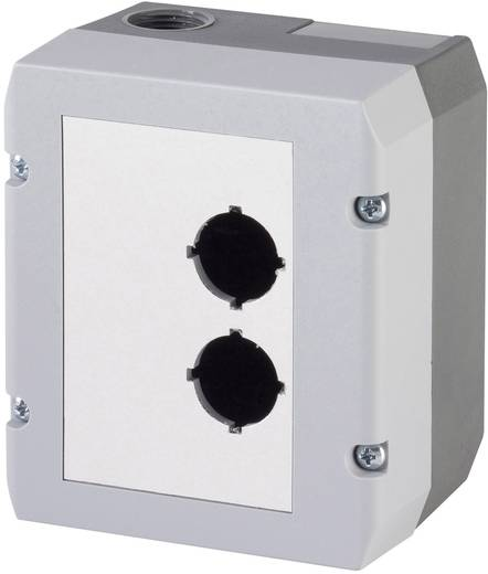 Leergehäuse (L x B x H) 100 x 115 x 74 mm Ohne Grau Schlegel DIRL2V-R22 1 St.