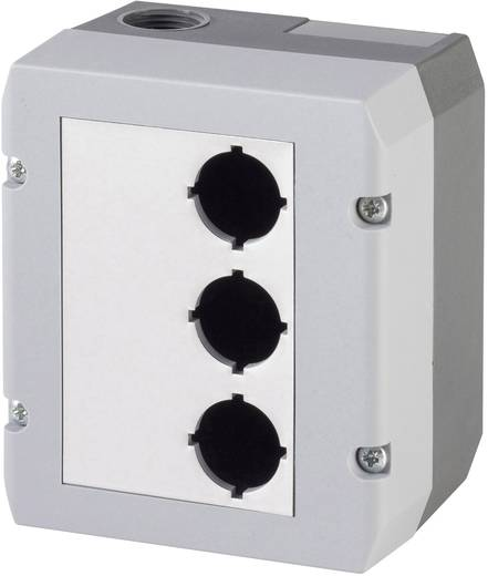 Leergehäuse (L x B x H) 100 x 115 x 74 mm Ohne Grau Schlegel DIRL3V-R22 1 St.
