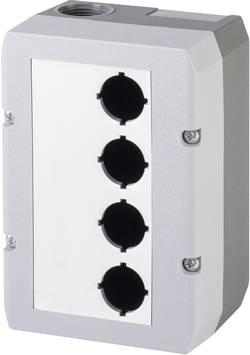 Boîtier vide Schlegel DIRL4V-R16 (L x l x h) 100 x 145 x 74 mm sans gris 1 pc(s)
