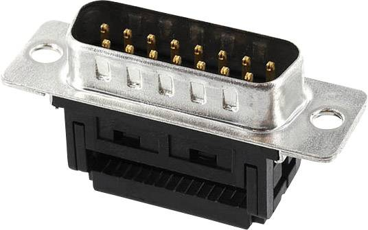 2 econ connect ST37SK//F DSub Stiftleiste 37pol Schneidklemm SUB-D Stecker 856930
