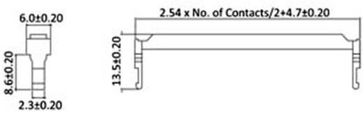 Zugentlastung Polzahl Gesamt: 8 econ connect 1 St.