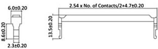 Zugentlastung Polzahl Gesamt: 10 econ connect 1 St.