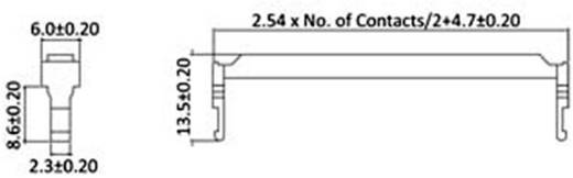 Zugentlastung Polzahl Gesamt: 40 econ connect 1 St.
