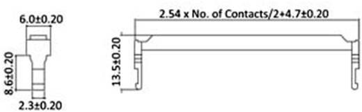 Zugentlastung Polzahl Gesamt: 14 econ connect 1 St.