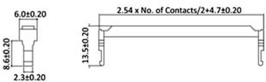 Zugentlastung Polzahl Gesamt: 26 econ connect 1 St.