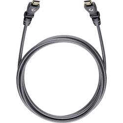 HDMI prepojovací kábel Oehlbach 42468, 3.2 m, sivá