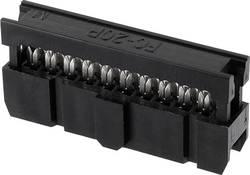 Konektor pre ploché káble econ connect PV10OZ, raster: 2.54 mm, počet pólov: 10, 1 ks