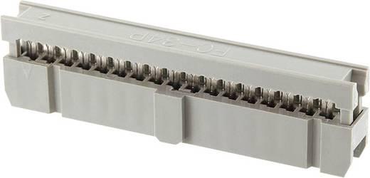 Pfosten-Steckverbinder Rastermaß: 2.54 mm Polzahl Gesamt: 34 Anzahl Reihen: 2 econ connect 1 St.