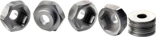 1:10 Alu-Felgenmitnehmer Absima 12 mm --> 17 mm Aluminium 4 St.