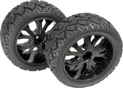 Roues complètes Tarmac forward pour Buggy Absima 2500013 5 rayons noir 1:10 1 pc(s)
