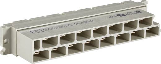 Leiterplattensteckverbinder DIN (PCB, System 23, IDC, Power) Gesamtpolzahl 15 Anzahl Reihen 2 FCI 1 St.