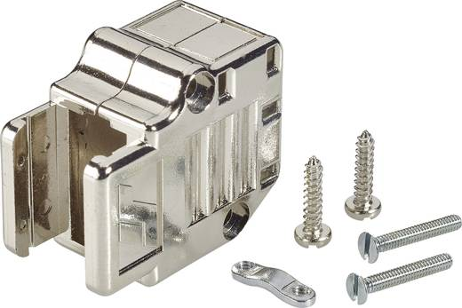 D-SUB Gehäuse Polzahl: 25 Kunststoff, metallisiert 90 ° Silber FCI D-SUB 1 St.