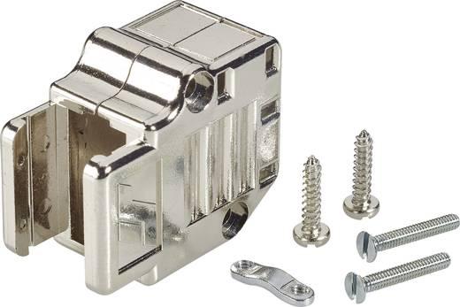 D-SUB Gehäuse Polzahl: 9 Kunststoff, metallisiert 90 ° Silber FCI D-SUB 1 St.