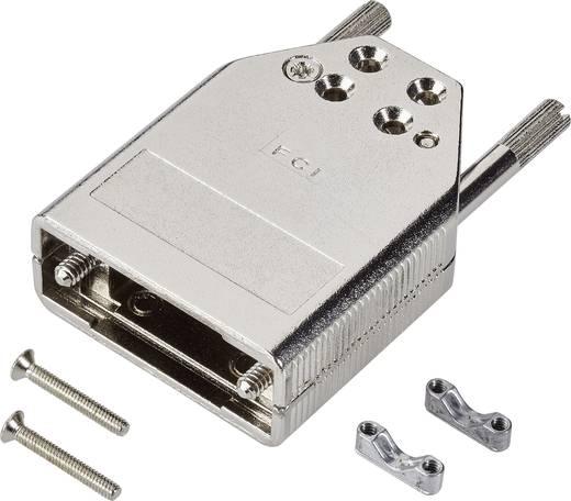 D-SUB Gehäuse Polzahl: 15 Zinkdruckguss 180 ° Silber FCI D-SUB 1 St.