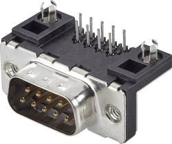 SUB-D mâle à picots 9 pôles FCI D09P13A4GL00LF 90 ° pour circuits imprimés 1 pc(s)