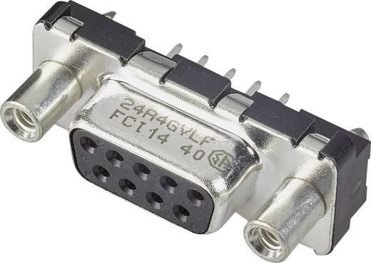 D-SUB Buchsenleiste 180 ° Polzahl: 9 Print FCI D-SUB 1 St.