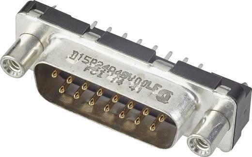 D-SUB Stiftleiste 180 ° Polzahl: 15 Print FCI D-SUB 1 St.