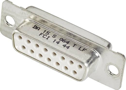 D-SUB Buchsenleiste 180 ° Polzahl: 9 Lötkelch FCI D-SUB 1 St.