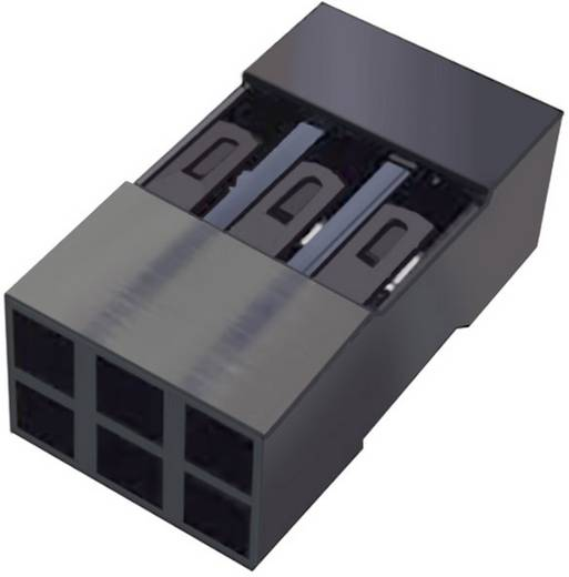 FCI Buchsengehäuse-Kabel Mini-PV Polzahl Gesamt 10 Rastermaß: 2.54 mm 65043-032ELF 1 St.