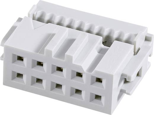 Pfosten-Steckverbinder Rastermaß: 2.54 mm Polzahl Gesamt: 50 Anzahl Reihen: 2 FCI 1 St.