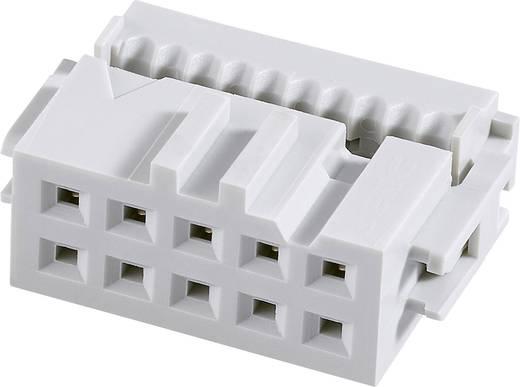 Pfosten-Steckverbinder Rastermaß: 2.54 mm Polzahl Gesamt: 8 Anzahl Reihen: 2 FCI 1 St.