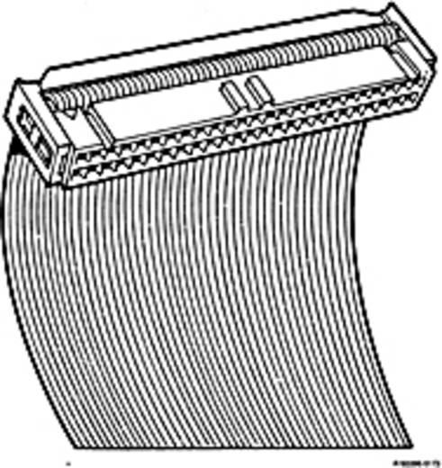 Pfosten-Steckverbinder mit Zugentlastung Rastermaß: 2.54 mm Polzahl Gesamt: 50 Anzahl Reihen: 2 FCI 1 St.