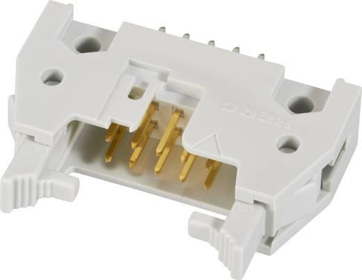 Pfosten-Steckverbinder mit Auswurfhebel kurz Rastermaß: 2.54 mm Polzahl Gesamt: 10 Anzahl Reihen: 2 FCI 1 St.