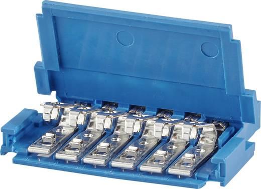 FCI Buchsengehäuse-Kabel Polzahl Gesamt 7 Rastermaß: 2.54 mm 65801-007LF 1 St.