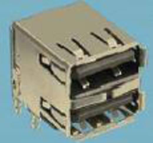 Einbaubuchse USB Typ A 2.0 Buchse, Einbau horizontal USB 2 Port FCI Inhalt: 1 St.