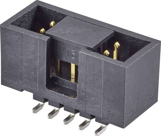 Pfosten-Steckverbinder Rastermaß: 2.54 mm Polzahl Gesamt: 20 Anzahl Reihen: 2 FCI 1 St.