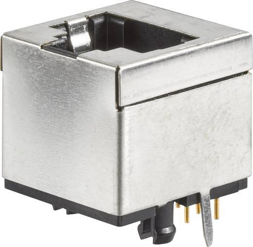 RJ45-Einbaubuchse Buchse, Einbau vertikal Pole: 8P8C Modular jacks Metall FCI 91139-088LF 1 St.