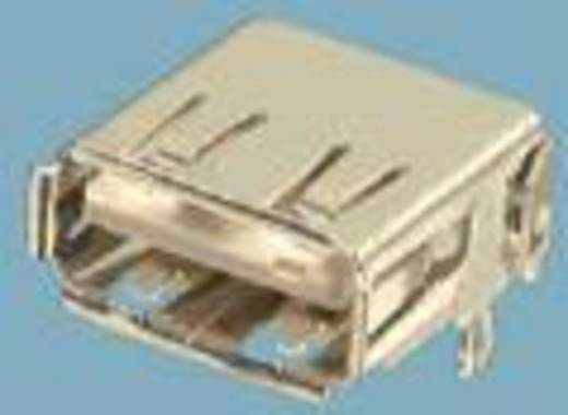 Einbaubuchse USB Typ A 2.0 Buchse, Einbau horizontal USB 1 Port FCI Inhalt: 1 St.