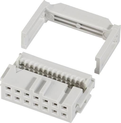 FCI Pfosten-Steckverbinder mit Zugentlastung Rastermaß: 2.54 mm Polzahl Gesamt: 16 Anzahl Reihen: 2 1 St.
