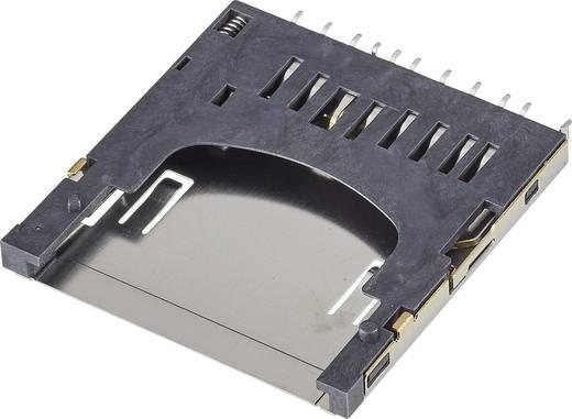 Speicherkarten-Steckverbinder Pole: 11 FCI Inhalt: 1 St.
